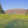 A view of hole #1 at Valley Golf Center.