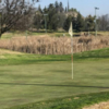 A view of a hole at Valley Golf Center.