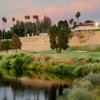 A sunset view from San Joaquin Country Club.