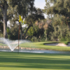 A view of a hole at Visalia Country Club.
