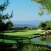 A view of hole #7 from The Ocean South at Pelican Hill Golf Club.