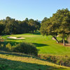 A view of the 3rd green at Stanford Golf Club (Joann Dost)