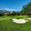 A view of the 14th hole at Diablo Country Club.
