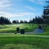 A view o a tee at WildHawk Golf Club.