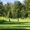 A view of a fairway at Blackberry Farm Golf Course.