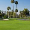 A view of a well protected green at Morgan Run Resort & Club.