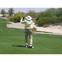 Desert Willow's Mountain View is a more forgiving course for older golfers.