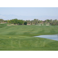 There's water at Desert Willow, but you can often go around it.