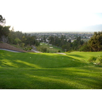 The fourth hole on the Eisenhower Course at Industry Hills Golf Club near L.A.