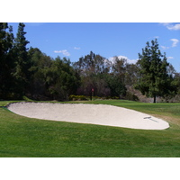 The 9th hole on the Eisenhower Course at Industry Hills Golf Club near Los Angeles.