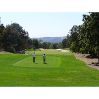 The 10th tee on the Eisenhower Course at Industry Hills Golf Club near Los Angeles.