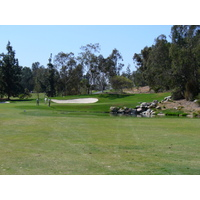The 10th green on the Eisenhower Course at Industry Hills Golf Club near Los Angeles.
