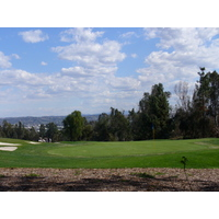 The 11th hole on the Eisenhower Course at Industry Hills Golf Club near Los Angeles.