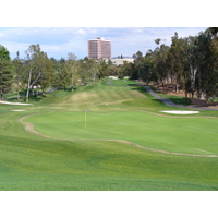 The 14th hole on the Eisenhower Course at Industry Hills Golf Club near Los Angeles.