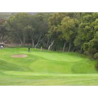 Reading the contoured greens are key on Temecula Creek Inn's Stonehouse golf course.