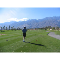 Escena Golf Club in Palm Springs is a stark, largely wide-open course.
