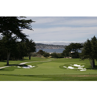Black Horse's seventh hole is a 395-yard par 4 with great views of the bay.