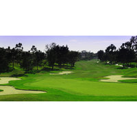 The 11th hole at Alta Vista Country Club in Placentia, California.