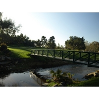 You have to cross water twice on the short par-4 15th on La Costa's Legends Course.