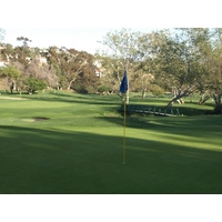 A look back from the green on the 15th on the Legends Course at La Costa.