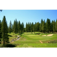 The eighth hole on The Golf Club at Gray's Crossing in Truckee is a 185-yard par 3.