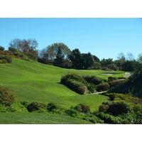 The sixth at Aviara Golf Club in Carlsbad is a tough, up-hill par 3.