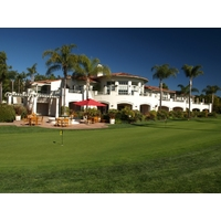 The 32,000-square-foot, Spanish-style clubhouse at Aviara Golf Club in Carlsbad, California.