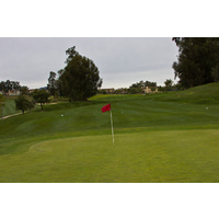 A look at the 17th green at Sterling Hills Golf Club in Camarillo.
