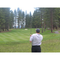 As at many Nicklaus courses, the approach shots are key at Lake  Tahoe-area Old Greenwood.