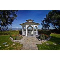 A wedding pavilion at Industry Hills Golf Club.