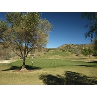 Looking back on the third hole at Maderas Golf Club.