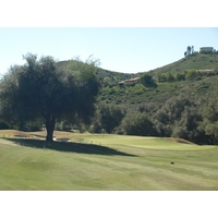 The sixth at Maderas Golf Club is a short, risk-reward par 4