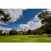 A view of the 14th green on the Oak Glen Course at Sycuan Golf Resort in El Cajon, Calif.