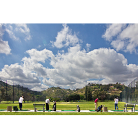 Sycuan Golf Resort has a private practice area.