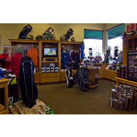 There's plenty to stock up on at Riverwalk Golf Club's pro shop.
