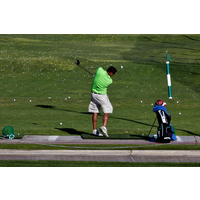 Need some work? The practice facilities at Riverwalk Golf Club help you get your game on track.