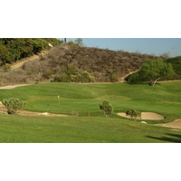 The 593-yard par-5 sixth is the No. 1 handicap hole at The Golf Club of California in Fallbrook.