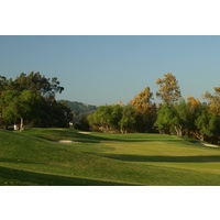 The par-17th is the No. 4 handicap hole at The Golf Club of California in Fallbrook.