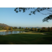 The Golf Club of California ends with a difficult par 3 that can play as long as 230 yards.