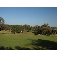 The fourth hole at Los Robles Greens is a short par 4 that sets up a good scoring opportunity.