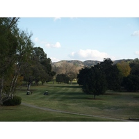 The 17th -- a 459-yard par 4 -- is the No. 1 handicap hole at Los Robles Greens Golf Course in Thousand Oaks, Calif.