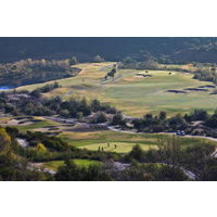 Eagle Glen Golf Club features elevation changes up to 400 feet.