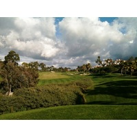 The second hole at Talega Golf Club is a 505-yard par 5.