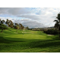 The par-4 ninth, at 428 yards, is the No. 4 handicap hole at Talega Golf Club in San Clemente..