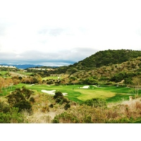 The 11th hole at Talega Golf Club is par 5 with a great view.