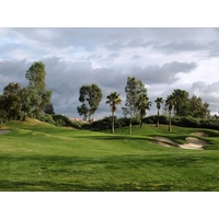 The 17th is yet another example of a picturesque par 3 at Talega Golf Club in San Clemente..