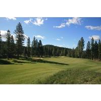 The opening hole at Grizzly Ranch Golf Club is a short and easy par 4.