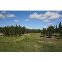 The eighth hole at Grizzly Ranch Golf Club is a straightaway par 4.