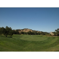 The fourth hole at Eagle Ridge Golf Club is the first of four par 5s.