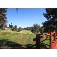 The fifth hole is the first of back-to-back par 5s at Carmel Highland Golf Resort in San Diego.